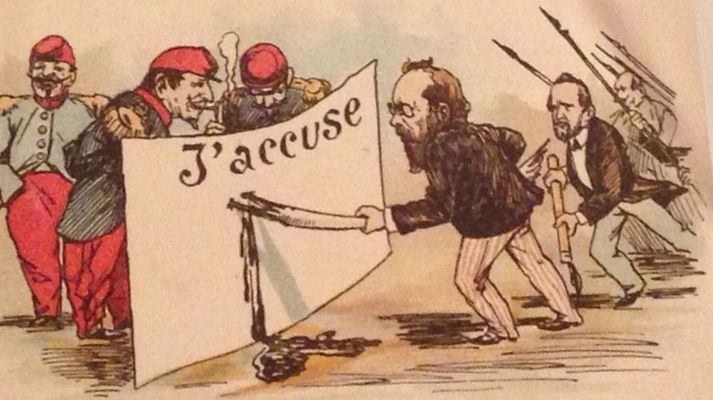 The Dreyfus Affair and the Georgiou Affair