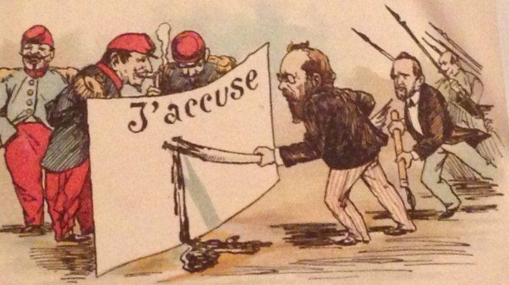The Dreyfus Affair and the Georgiou Affair